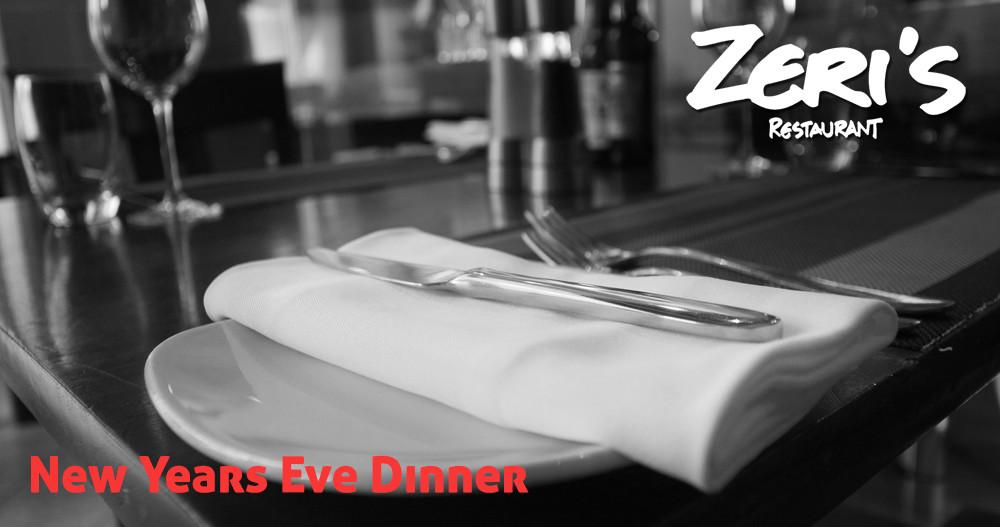 New Years Eve - at Zeri's Restaurant