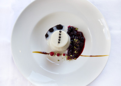 Dish art - Pannacotta