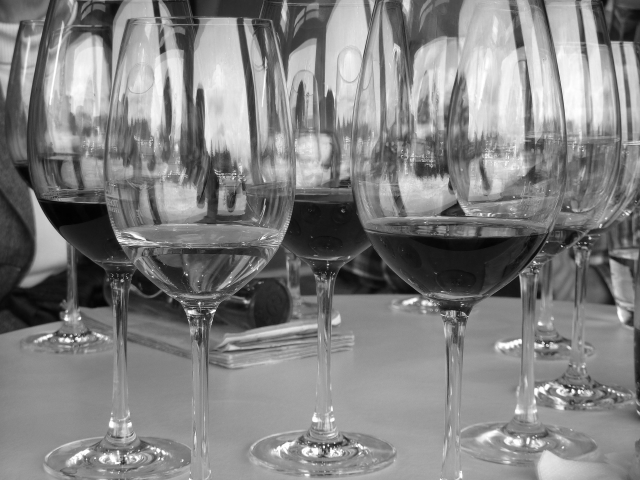 Wine Glass Corks at Zeris Restaurant