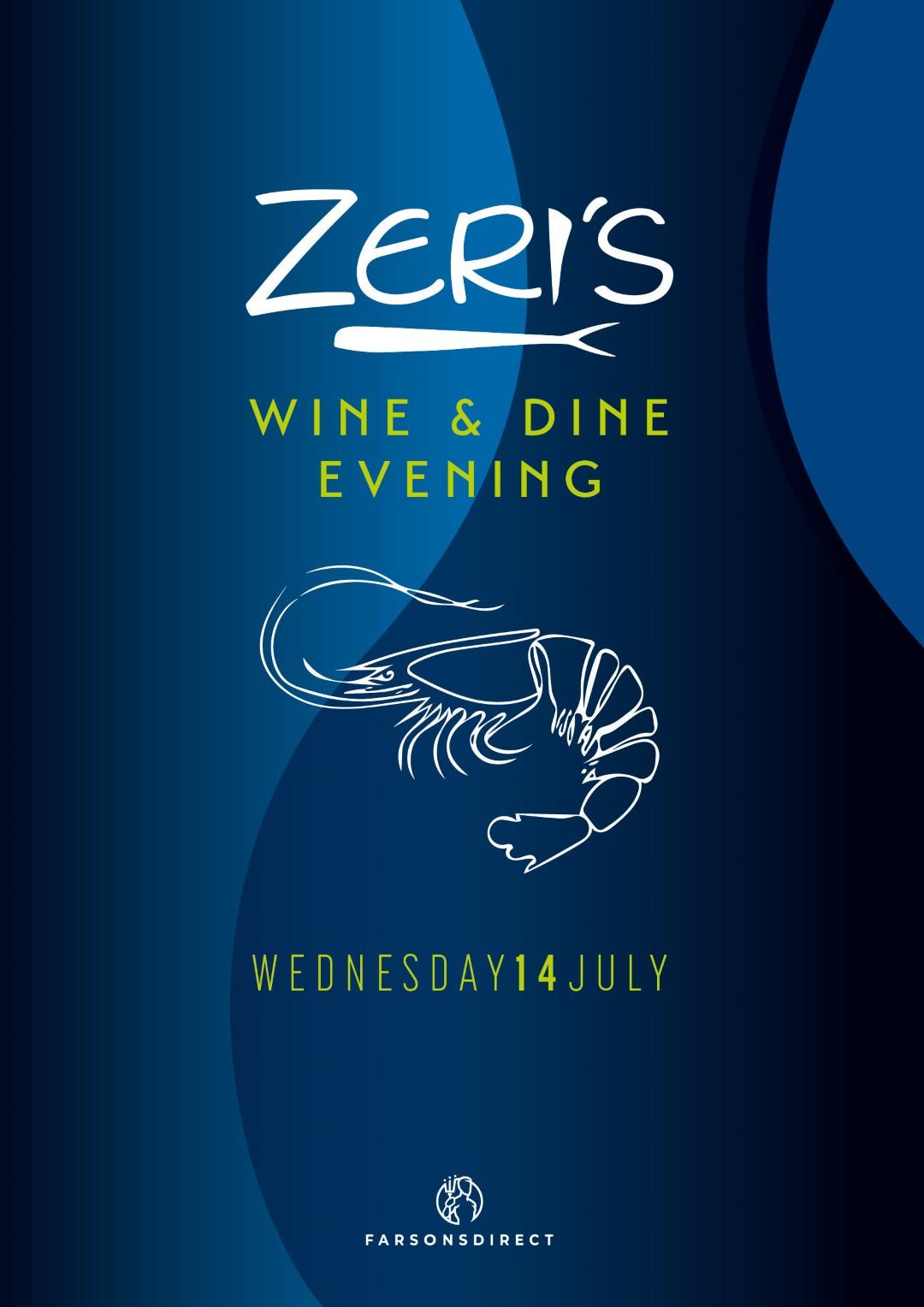 Wine and Dine Zeris